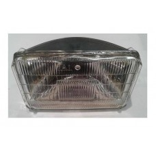 Sealed Beam - 2 Pin - 12V 50W - Rectangular 5 3/4""