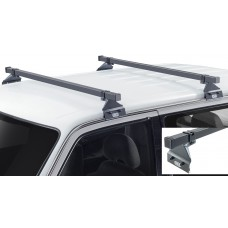 933-071 & 923-013 TRADE RACKS - CRUZ ROOF RACKS FORD TRANSIT - 1 X 1.75M BAR & 110MM HIGH SUPPORTS