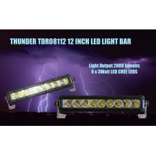 DRIVING LIGHT BAR 9 LED - THUNDER
