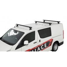 Rhino Rack - 3 x Black Heavy Duty Roof Rack - for Toyota Hiace 2019 on