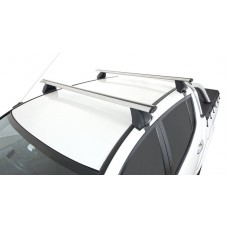 Roof Racks Rhino Rack Vortex Silver to suit Mitsubishi Triton 2006-2015 dbl cab